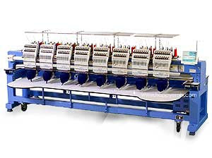 Happy HCR2-1508 15-Needle 8-Head Embroidery Machine
