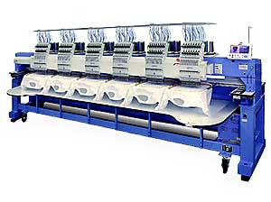 Happy HCR2-X1506 15-Needle 6-Head Stretch Embroidery Machine