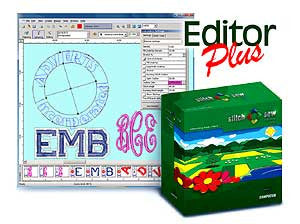 Happy Stitch And Sew 2.0 Editor Plus Embroidery Software