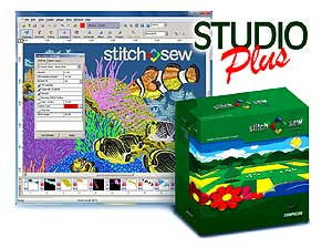 Happy Stitch And Sew 2.0 Studio Plus Embroidery Software