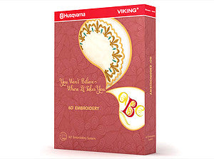 Husqvarna Viking 6D Embroidery Software