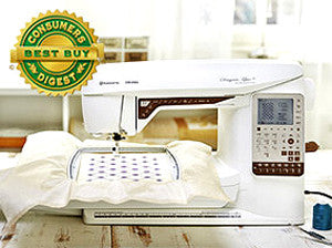 Husqvarna Viking Designer Topaz 25 Sewing And Embroidery Machine