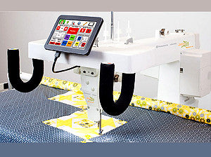 Husqvarna Viking Platinum 3000 Long Arm Quilter With Optional Inspira iQuilt Frame