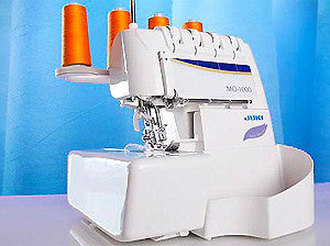 Juki MO-1000 4/3/2-Thread 2-Needle Overlock Serger With Easy Air Threader