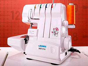 Juki MO-51e 4/3-Thread 2-Needle Overlock Serger