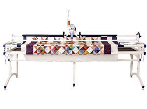 Juki TL2200QVP 18 Inch Long Arm Quilter With Metal Frame