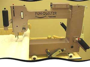 Nolting Fun Quilter 20 Long Arm Quilting Machine With Optional Frame
