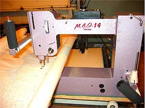 Nolting Mid Arm Quilter MAQ-14 With Optional Frame