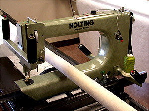 Nolting 20-Inch Longarm Quilting Machine With 12-Foot Table