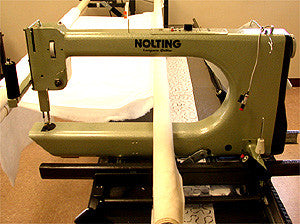 Nolting 30-Inch Longarm Quilting Machine With 12-Foot Table