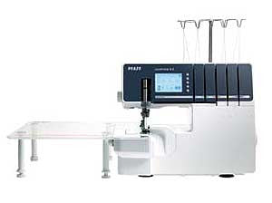 Pfaff Coverlock 4.0 5/4/3/2-Thread Overlock Machine