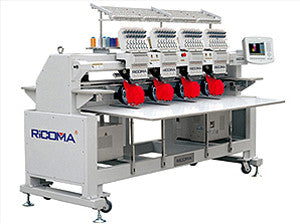 Ricoma RCM-1204CTS 12-Needle 4-Head All Servo Motor Tubular Embroidery Machine