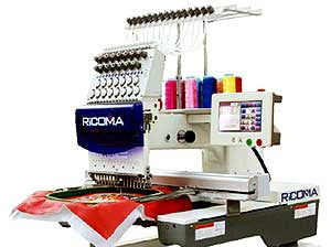 Ricoma RCM-0601TC-7S 6-Needle Single Head Embroidery Machine