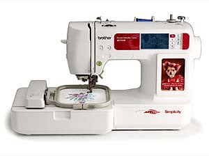 Simplicity SB7050E Single Needle Embroidery Machine