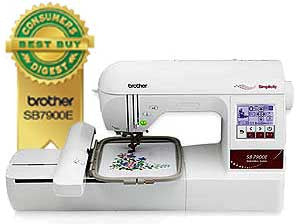 Simplicity SB7900E Single Needle Embroidery Machine