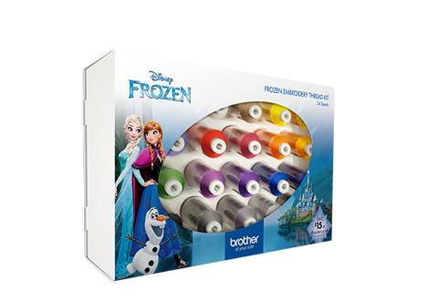 Frozen Embroidery Thread Kit