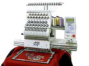 Tajima TEJT II-C 901 Neo 9-Needle Embroidery Machine