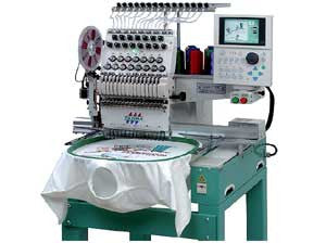 Tajima TEMX-C 1201 12-Needle Single Head High Performance Embroidery Machine
