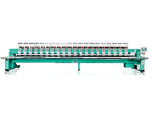Tajima TFGN-II-C912-400 9 Needles 12 Heads Cylinder Embroidery Machine