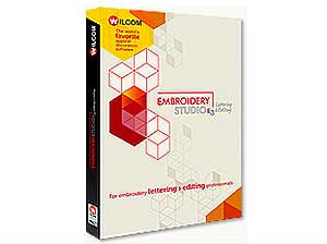 Wilcom Embroidery Studio e3 Editing Software