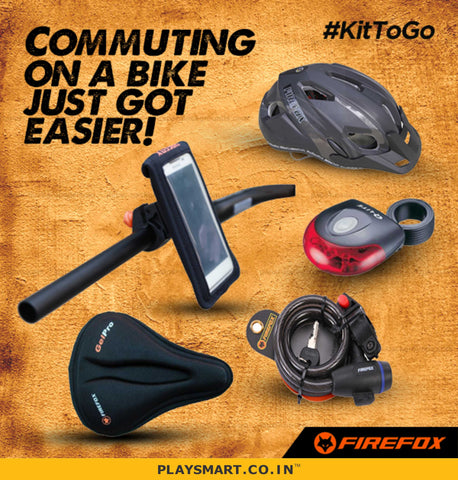 FIREFOX- BICYCLE GEARS ACCESSORIES COMPONENTS & WORKSHOPS I ONLINE I INDIA