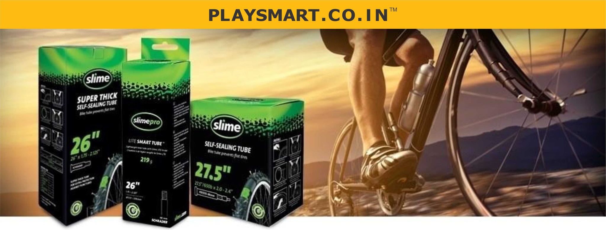 SLIME I BICYCLE TUBE SEALANTS I TYRE LINERS I SMART TUBES I SKABS I BOOKING APP