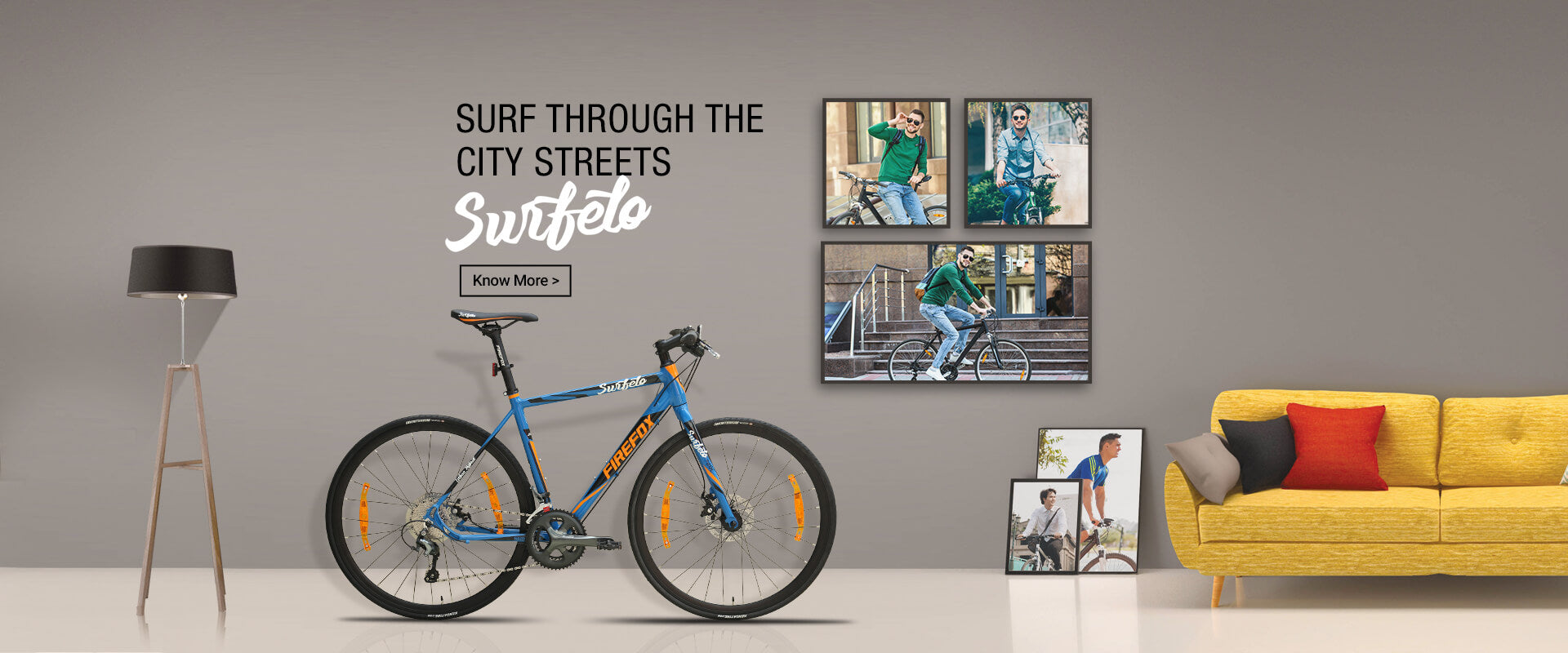 FIREFOX SURFELO HYBRID BICYCLE