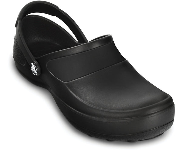 CROCS WORK MERCY WOMENS BLACK CLOG