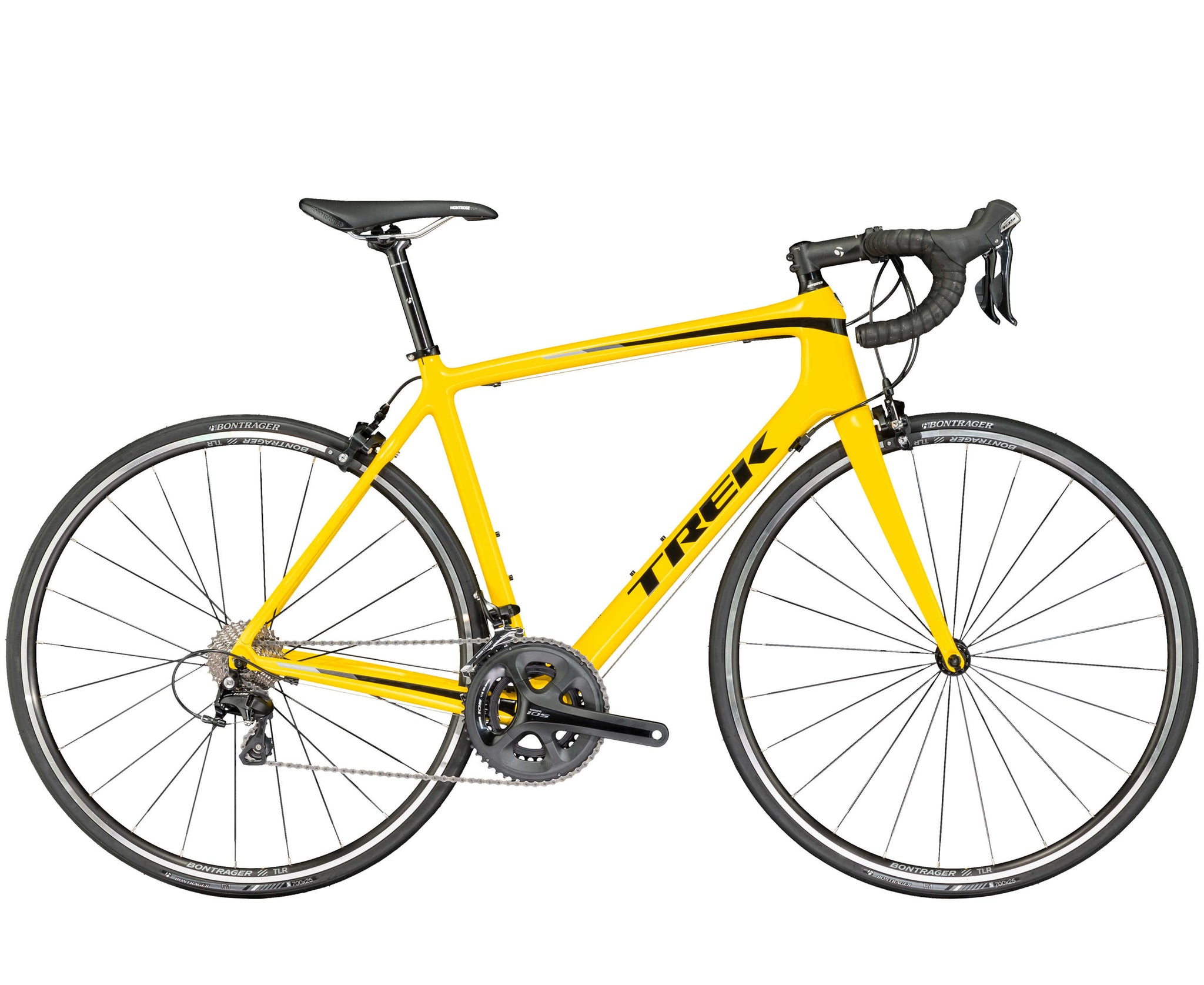 TREK EMONDA S5 YELLOW ROAD BICYCLE
