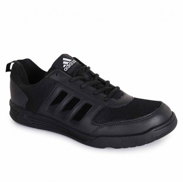 ADIDAS BLACK LACES SCHOOL AND OFFICE SHOES