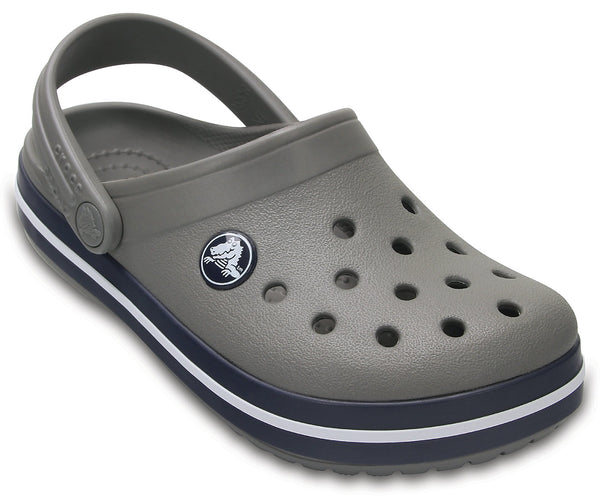CROCS CROCBAND KIDS SMOKE/NAVY CLOG