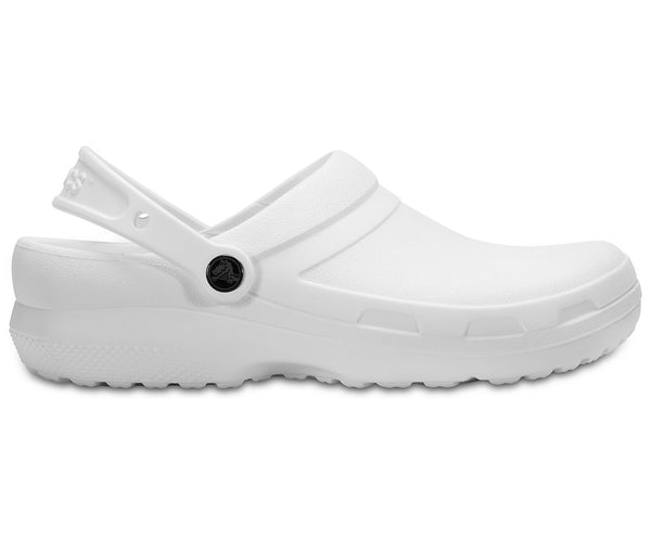 CROCS WORK SPECIALIST 2 ADULT WHITE CLOG
