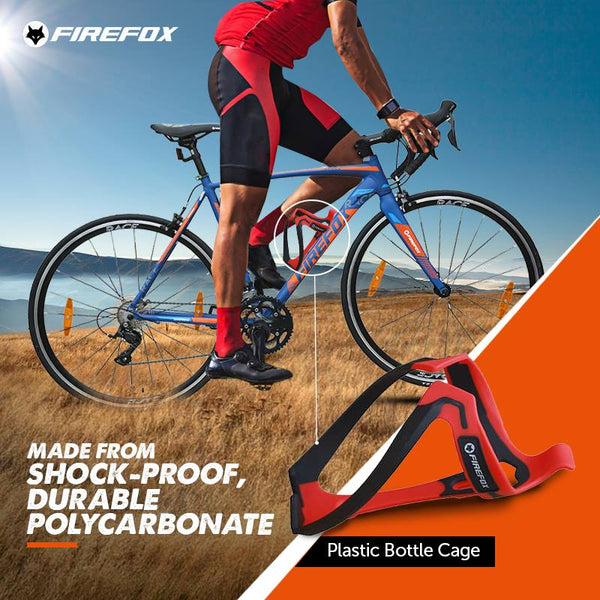 Firefox Plastic Polycarbonate Bottle Cage