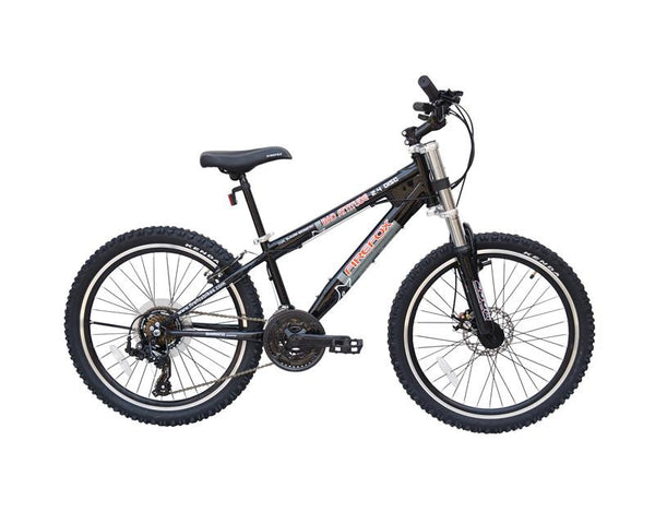 FIREFOX BAD ATTITUDE 2.4 DISC BLACK (9-12 YEARS) KID'S BICYCLE