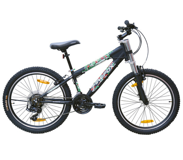 FIREFOX BAD ATTITUDE 2.4V BLACK (9-12 YEARS) KID'S BICYCLE