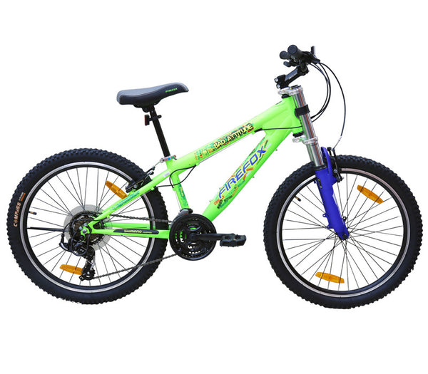 FIREFOX BAD ATTITUDE 2.4V NEON GREEN (9-12 YEARS) KID'S BICYCLE