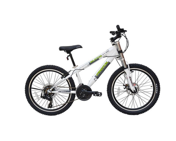FIREFOX BAD ATTITUDE 2.4 DISC WHITE (9-12 YEARS) KID'S BICYCLE
