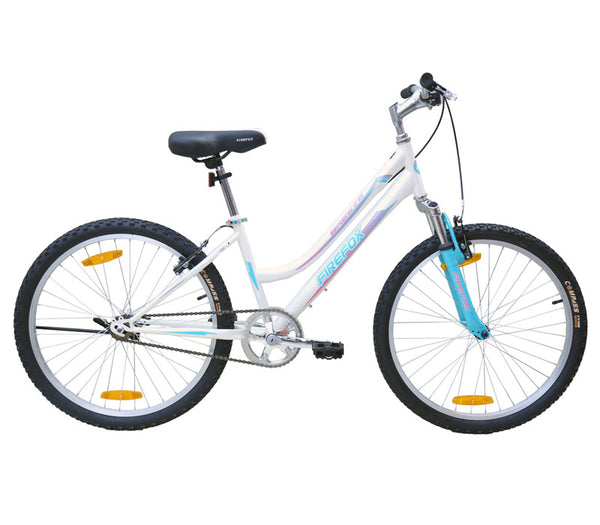 FIREFOX BREEZE 24 CREAM WHITE (9-12 YEARS) KID'S BICYCLE