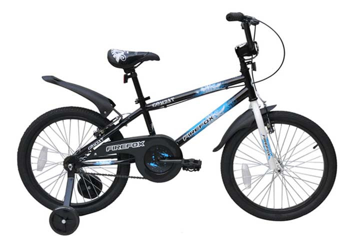 FIREFOX COMBAT 2.0 BLACK/BLUE (7-9 YEARS) KID'S BICYCLE
