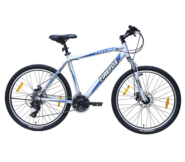 FIREFOX CYCLONE (DUAL DISC) 26 GREY BICYCLE