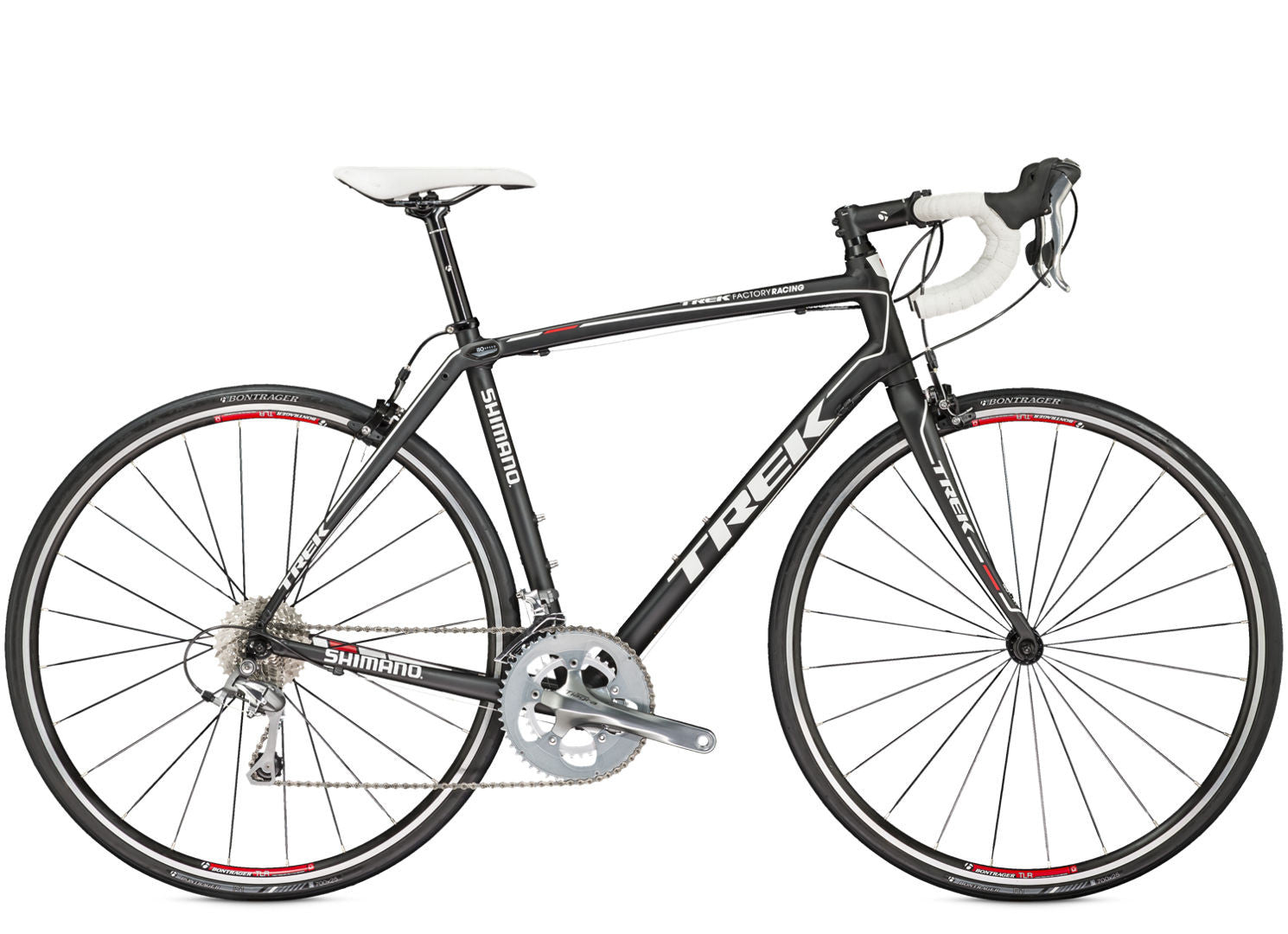Trek Domane 2 0 Black White Road Bicycle