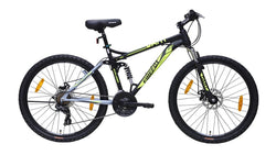 FIREFOX DART PRO 2.6 DUAL DISC 21 SPEED MATT BLACK BICYCLE