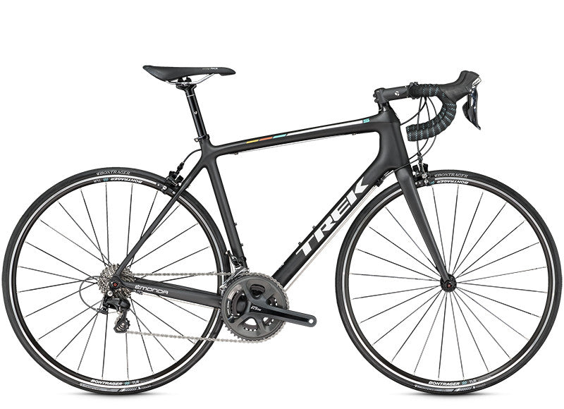 TREK EMONDA S5 BLACK I WHITE ROAD BICYCLE