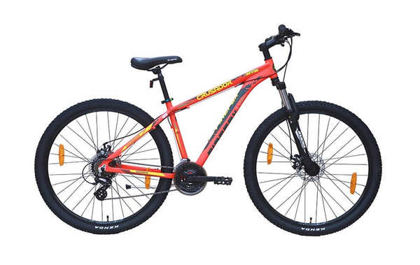FIREFOX CRUSADOR 29ER DISC NEON RED BICYCLE