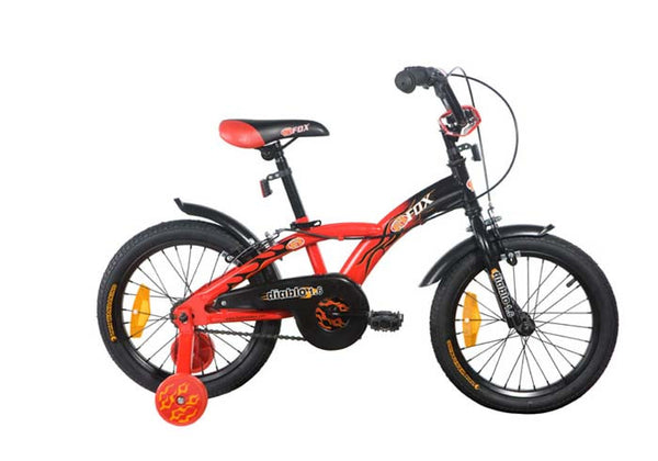 FIREFOX DIABLO 16 RED (5-7) YEARS KIDS BICYCLE
