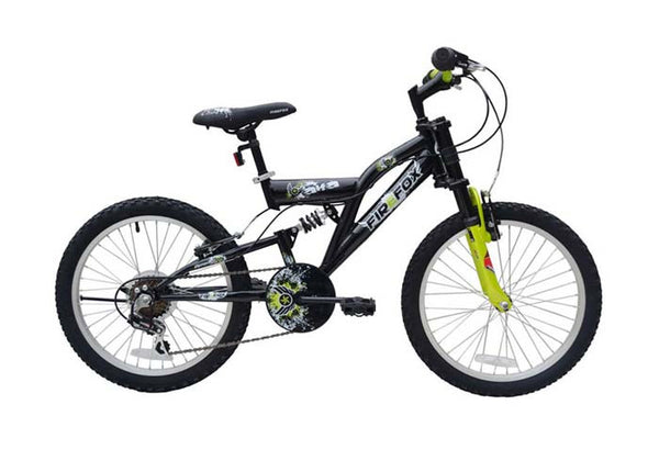 FIREFOX ALFA 20 BLACK (7-9 YEARS) KID'S BICYCLE