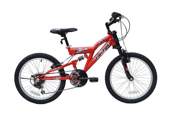 FIREFOX ALFA 20 RED (7-9) KIDS BICYCLE