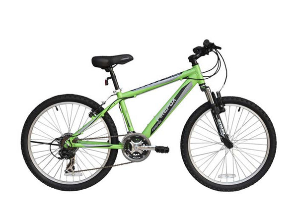 FIREFOX CYCLONE 24 GREEN/BLACK (9-12 YEARS) KID'S BICYCLE