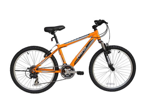 FIREFOX CYCLONE 24 ORANGE/BLACK (9-12 YEARS) KIDS BICYCLE