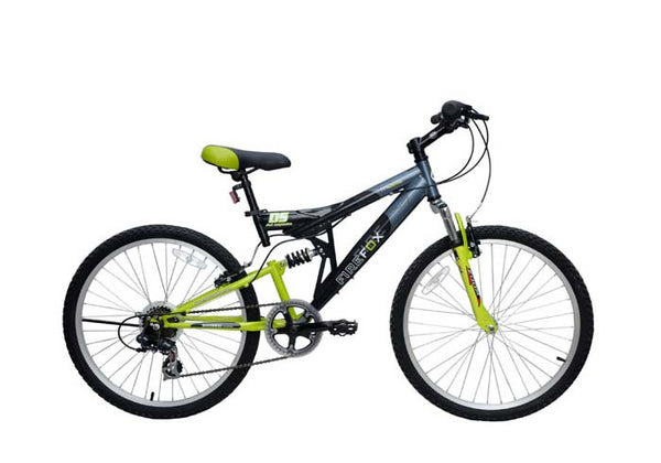 FIREFOX THERMO GREEN/BLACK (9-12 YEARS) KID'S BICYCLE